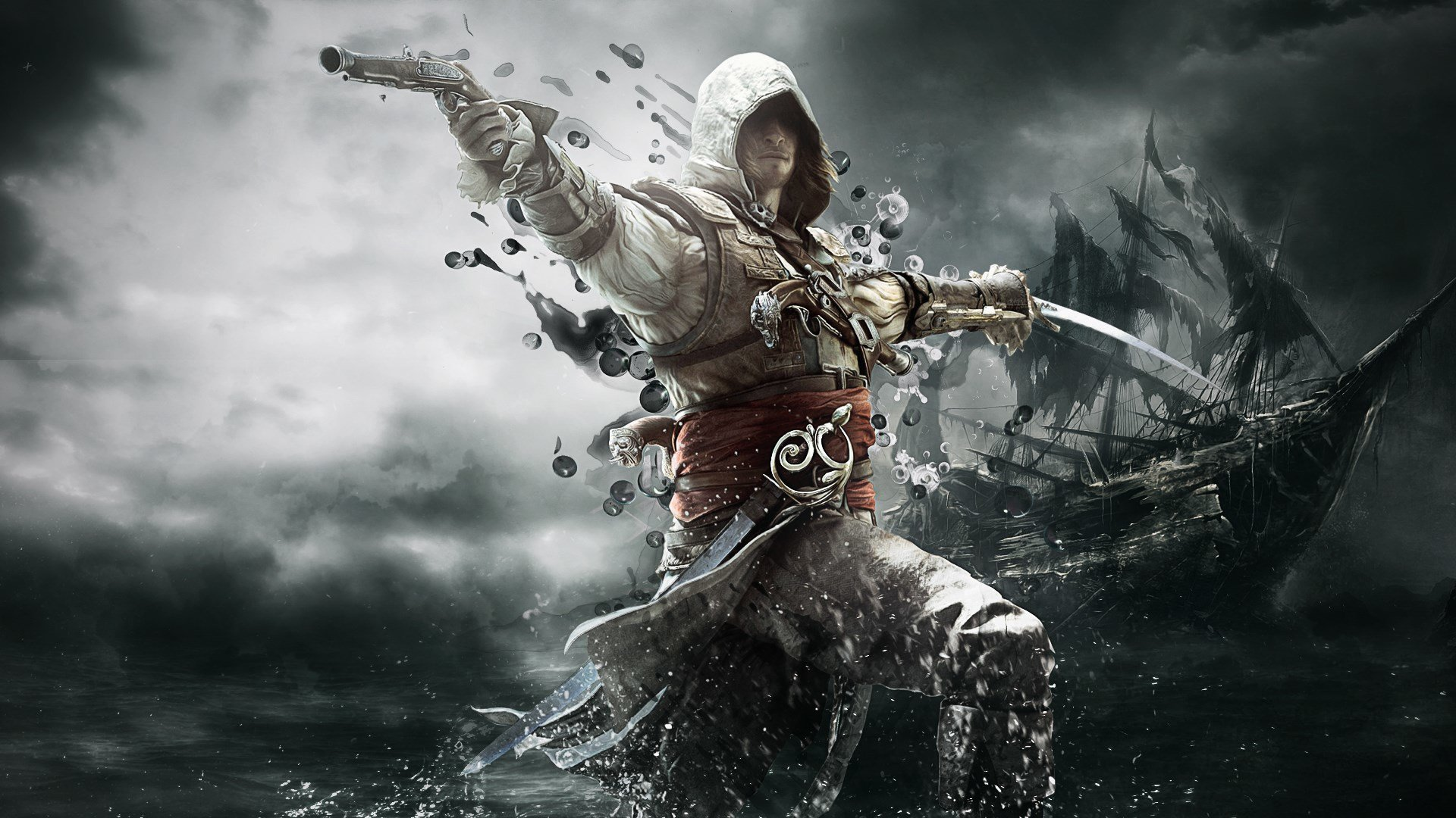 Awesome Assassin's Creed 4: Black Flag free wallpaper ID:234551 for 1080p desktop
