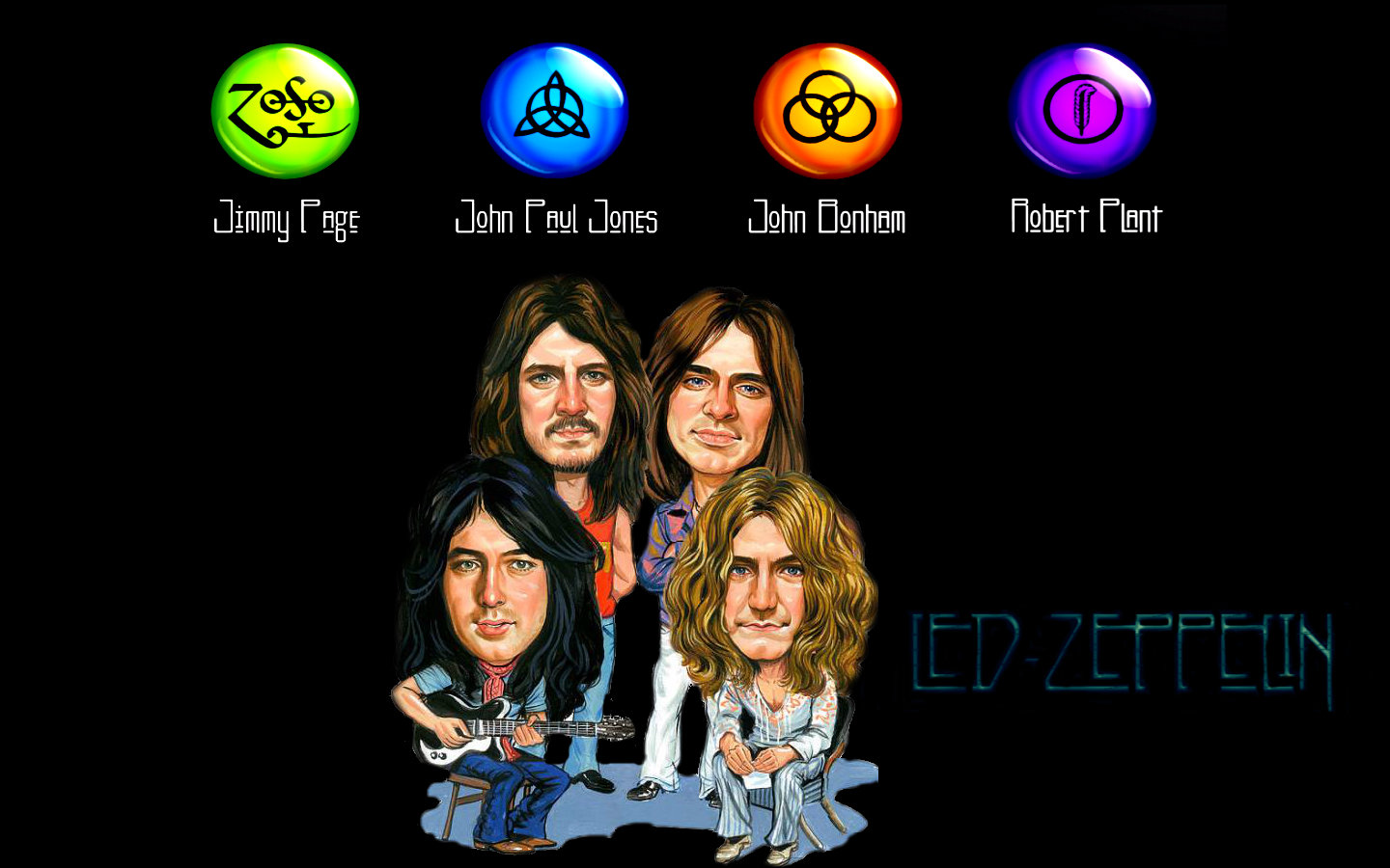 Download Hd 1440x900 Led Zeppelin Computer Wallpaper Id 401647 For