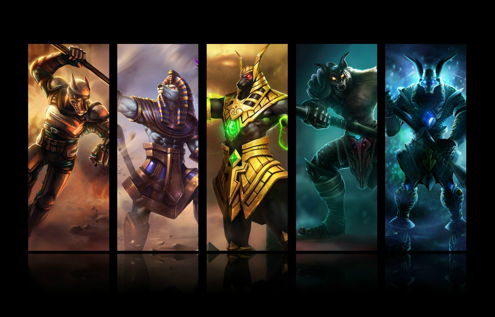 Download hd 1600x1024 Nasus (League Of Legends) computer wallpaper ID:173695 for free