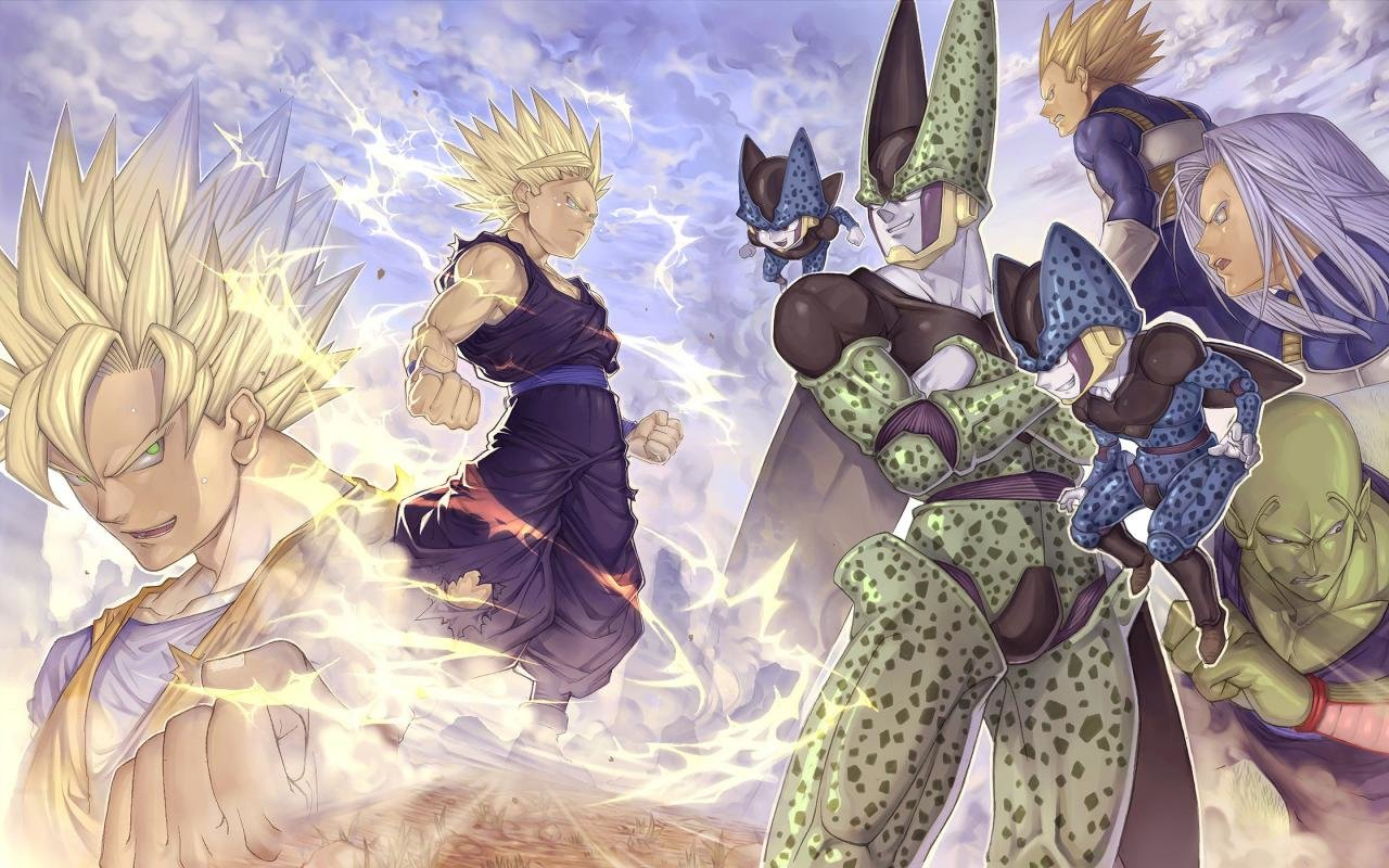 High resolution Dragon Ball Z (DBZ) hd 1280x800 background ID:462414 for desktop