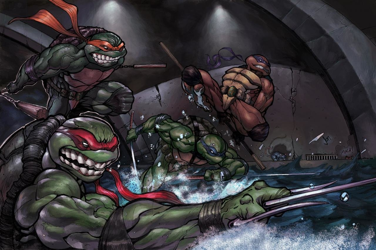 Best Teenage Mutant Ninja Turtles (TMNT) wallpaper ID:111219 for High Resolution hd 1280x854 desktop