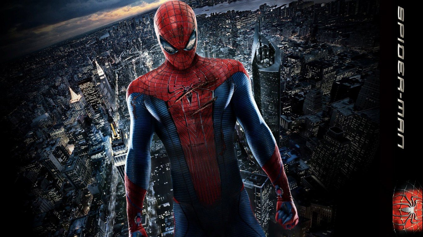 Awesome The Amazing Spider-Man free wallpaper ID:142058 for laptop desktop. 1366x768