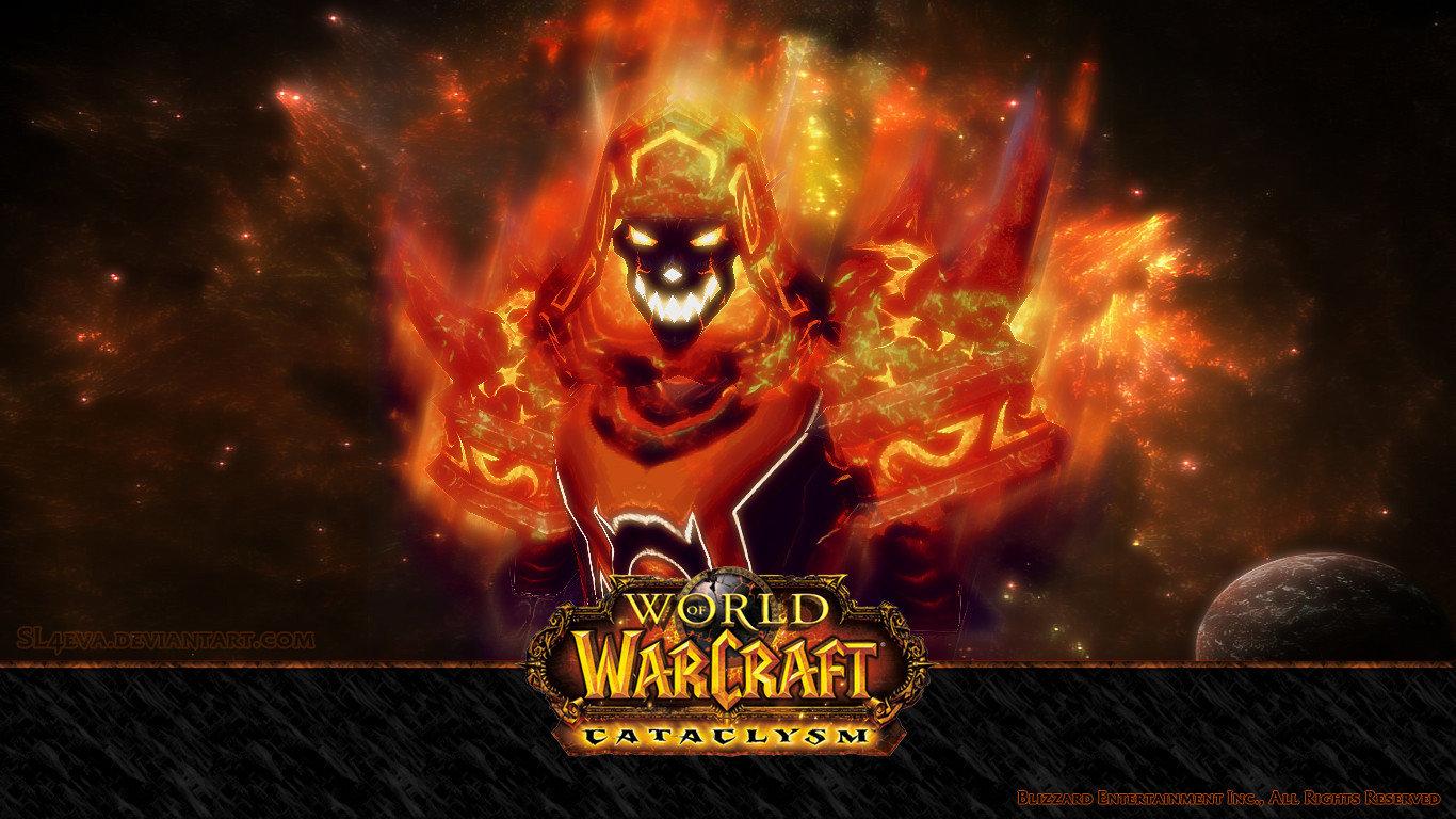 World Of Warcraft Cataclysm Wallpapers 1366x768 Laptop