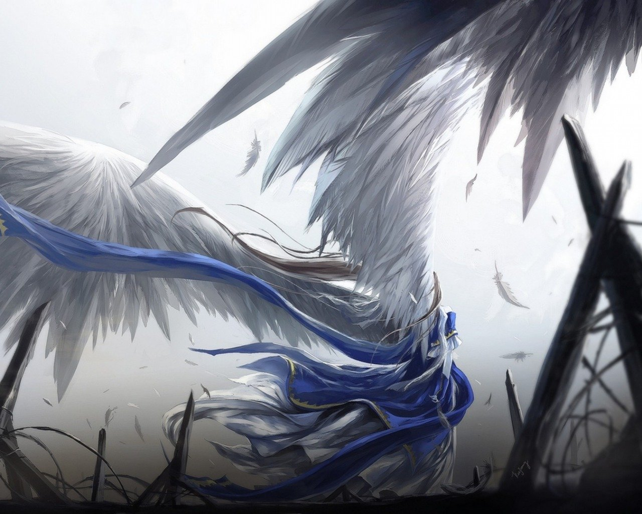 Free download Belldandy background ID:207161 hd 1280x1024 for PC