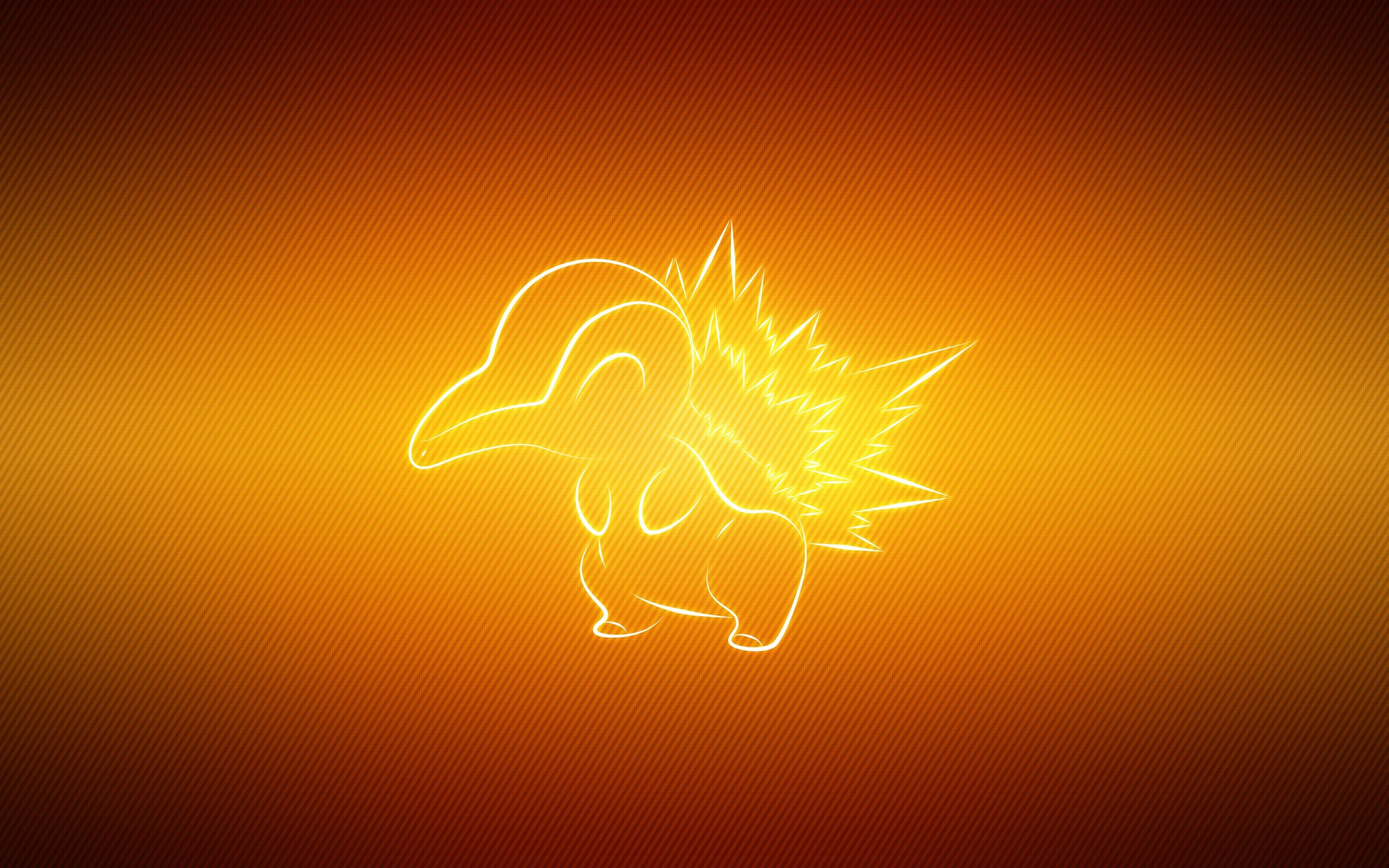 Free download Cyndaquil (Pokemon) background ID:280713 hd 2560x1600 for desktop