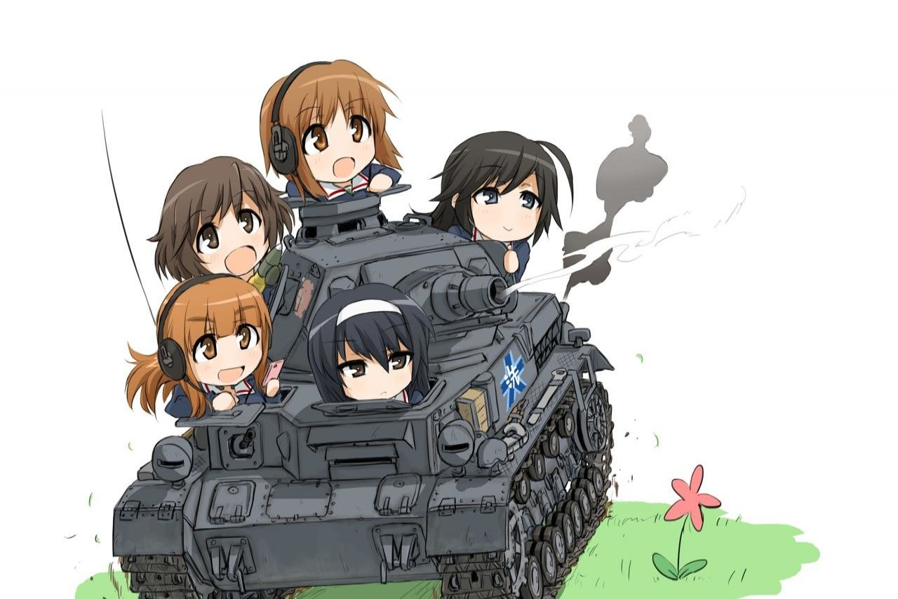 High resolution Girls Und Panzer hd 1280x854 background ID:208199 for computer