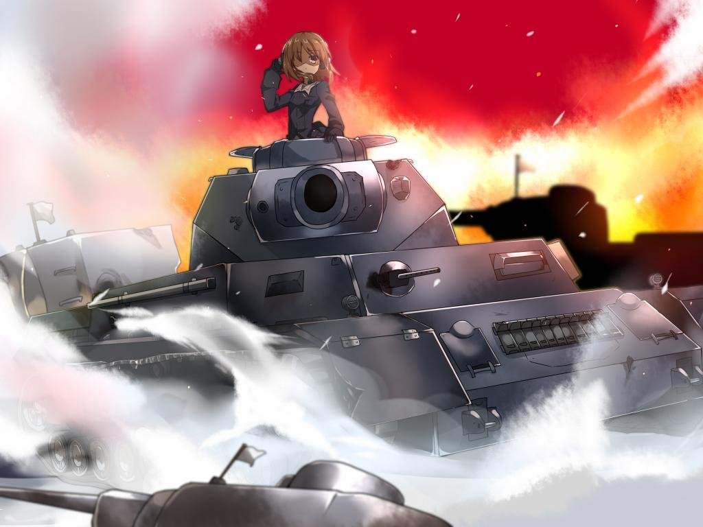 Free Girls Und Panzer high quality background ID:208210 for hd 1024x768 desktop