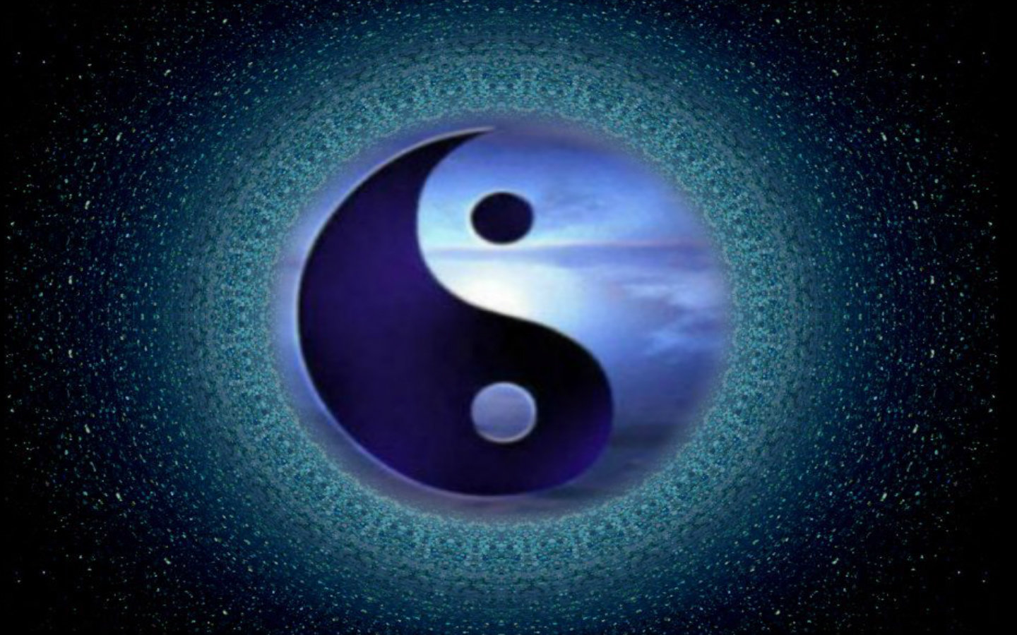 Download hd 1440x900 Yin and Yang computer wallpaper ID:270711 for free