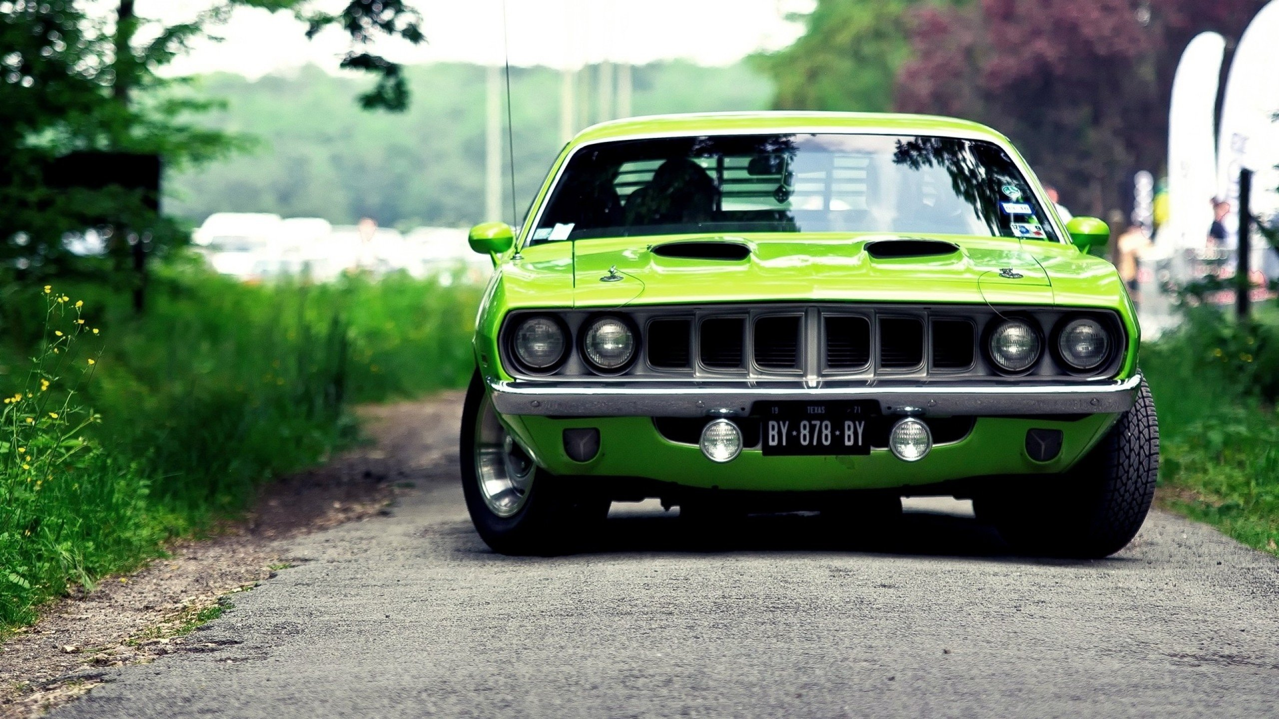 Free Plymouth Barracuda high quality background ID:110297 for hd 2560x1440 computer