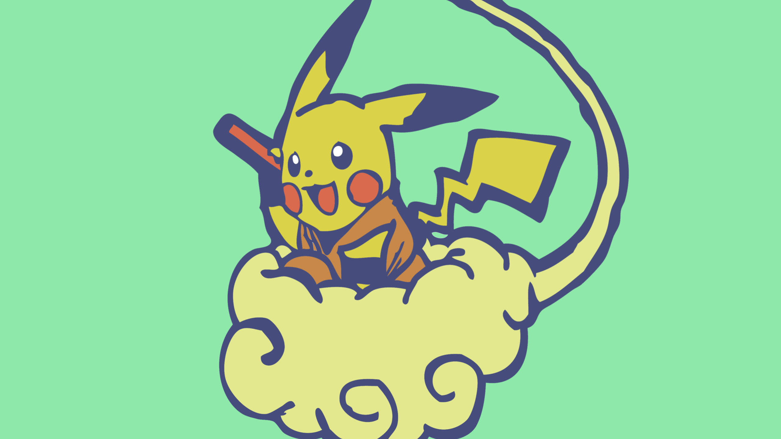 Awesome Pikachu free wallpaper ID:278911 for hd 2560x1440 PC