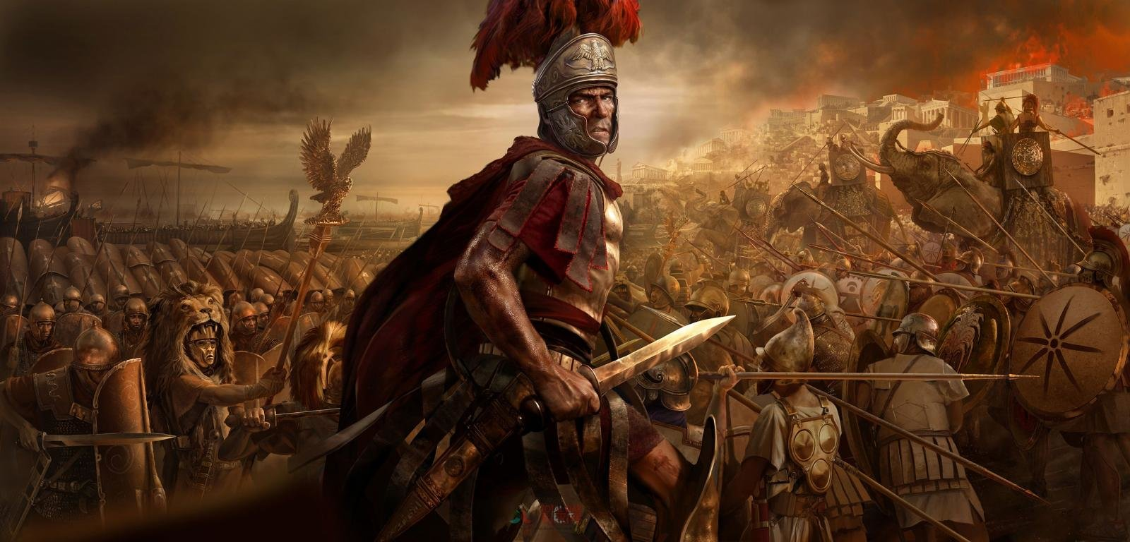 Best Total War: Rome II background ID:227016 for High Resolution hd 1600x768 PC