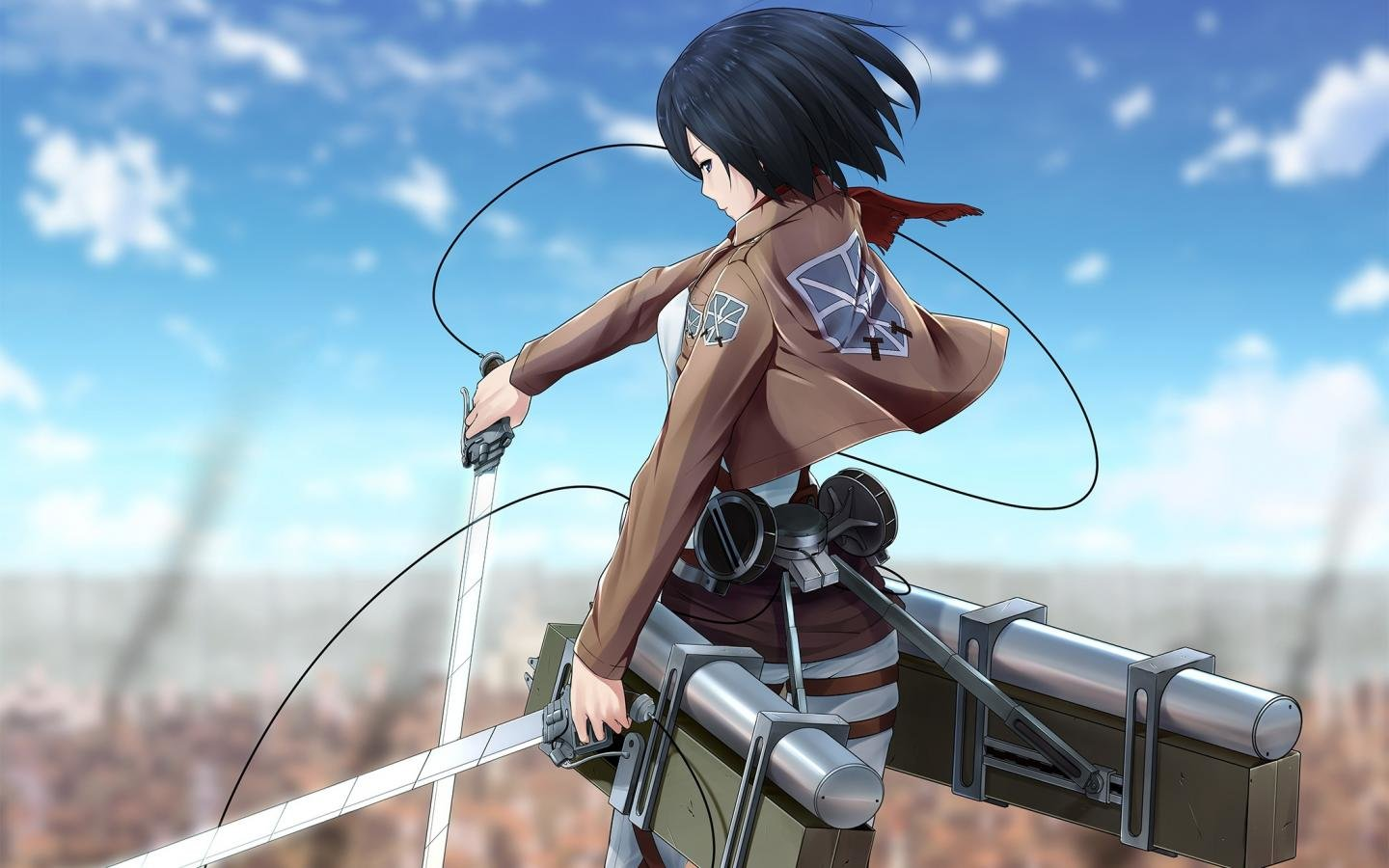 Best Mikasa Ackerman background ID:206000 for High Resolution hd 1440x900 desktop