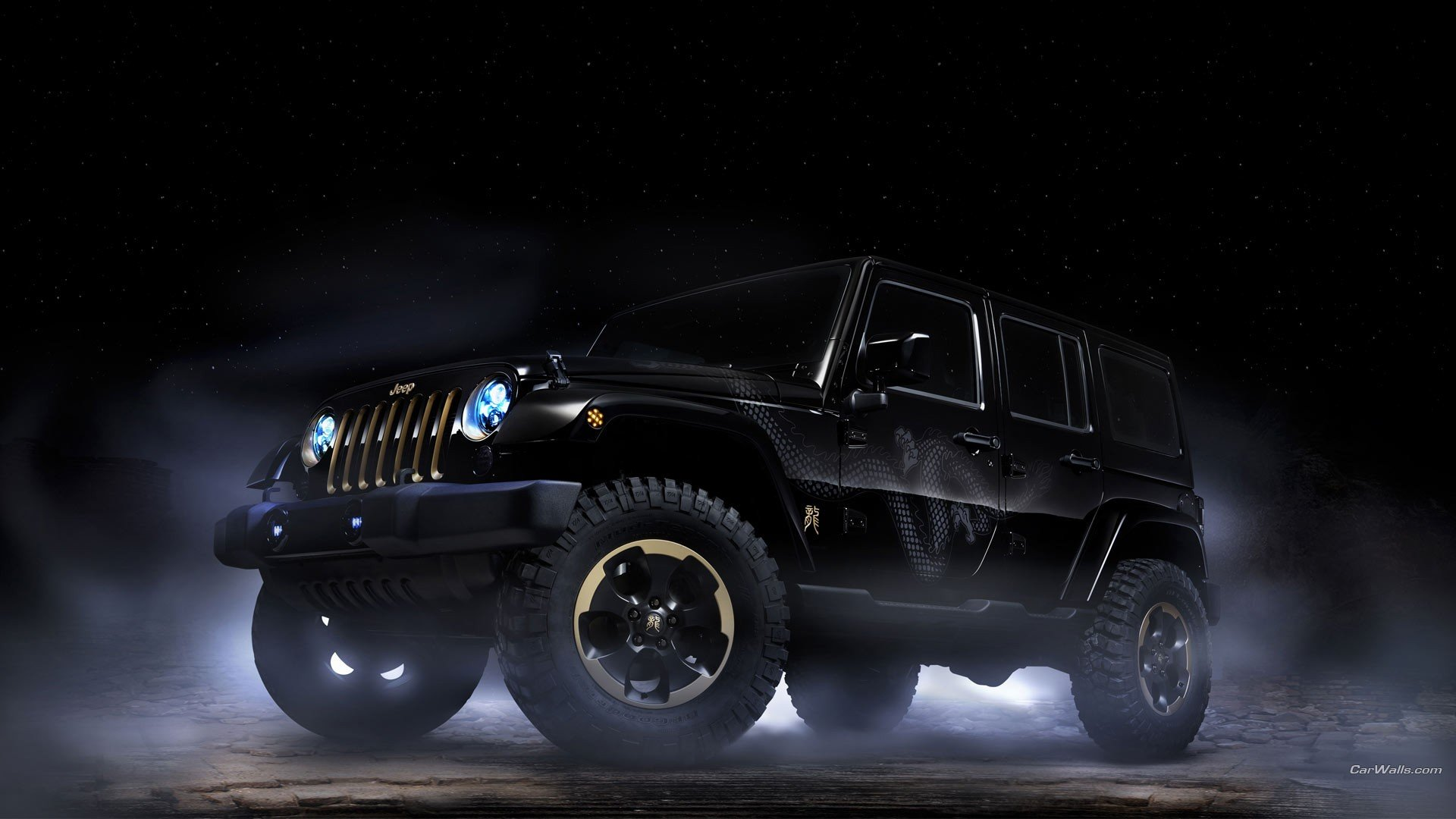 Jeep Wrangler wallpapers 1920x1080 Full