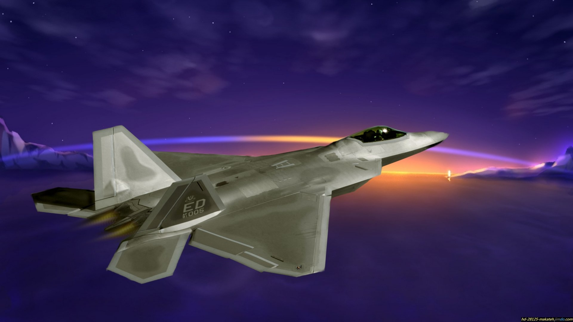 High Resolution Lockheed Martin F 22 Raptor Hd 1080p Background Id