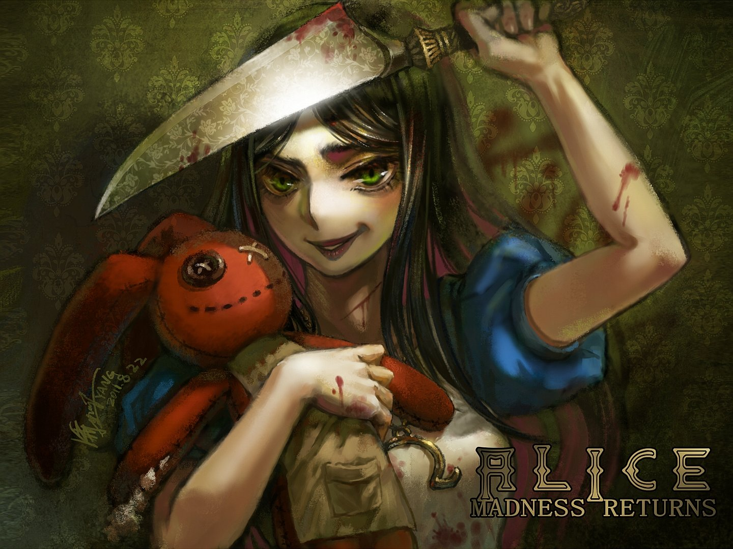 Best Alice: Madness Returns wallpaper ID:27554 for High Resolution hd 1440x1080 desktop