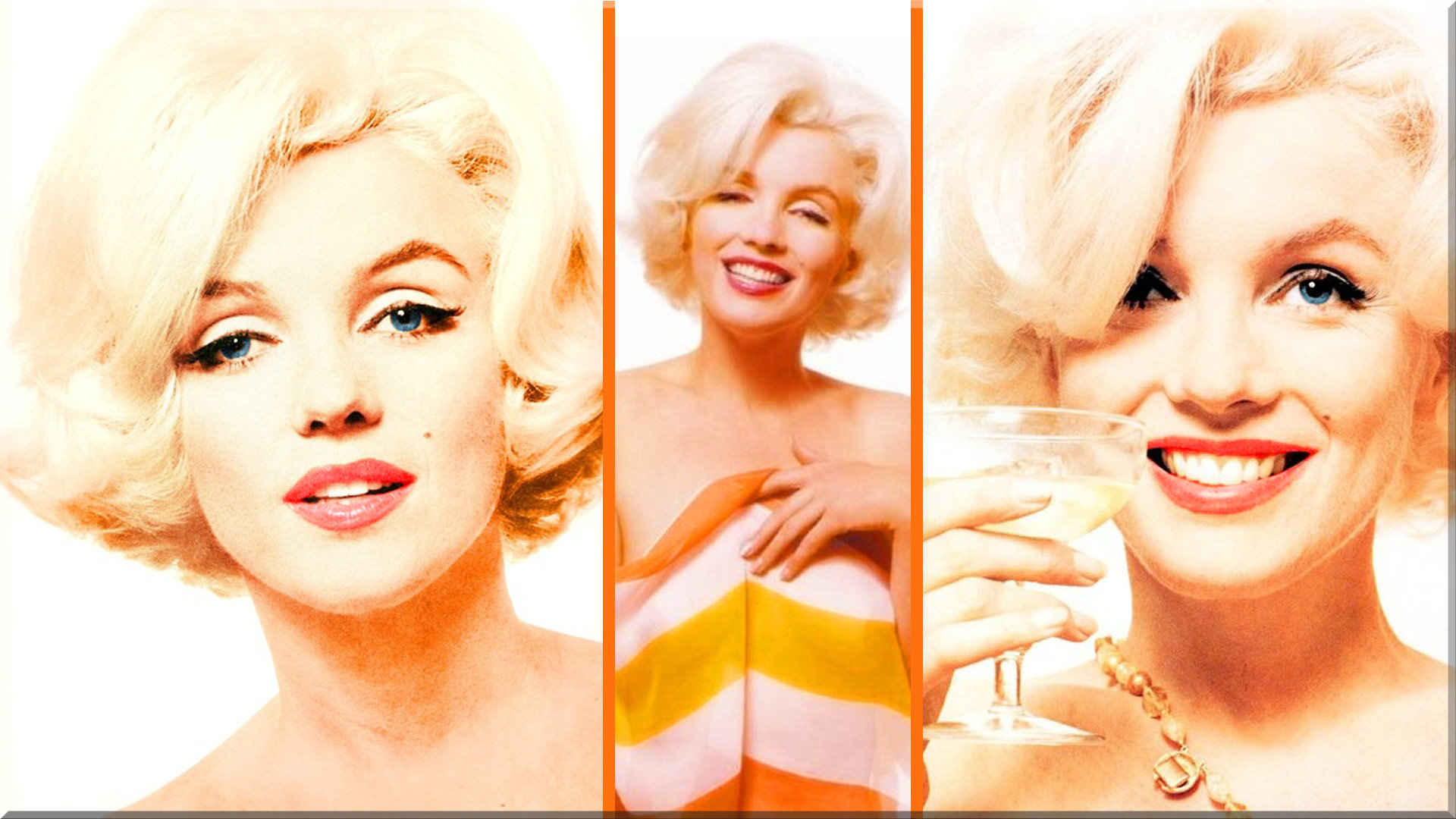 Awesome Marilyn Monroe free background ID:119467 for 1080p desktop