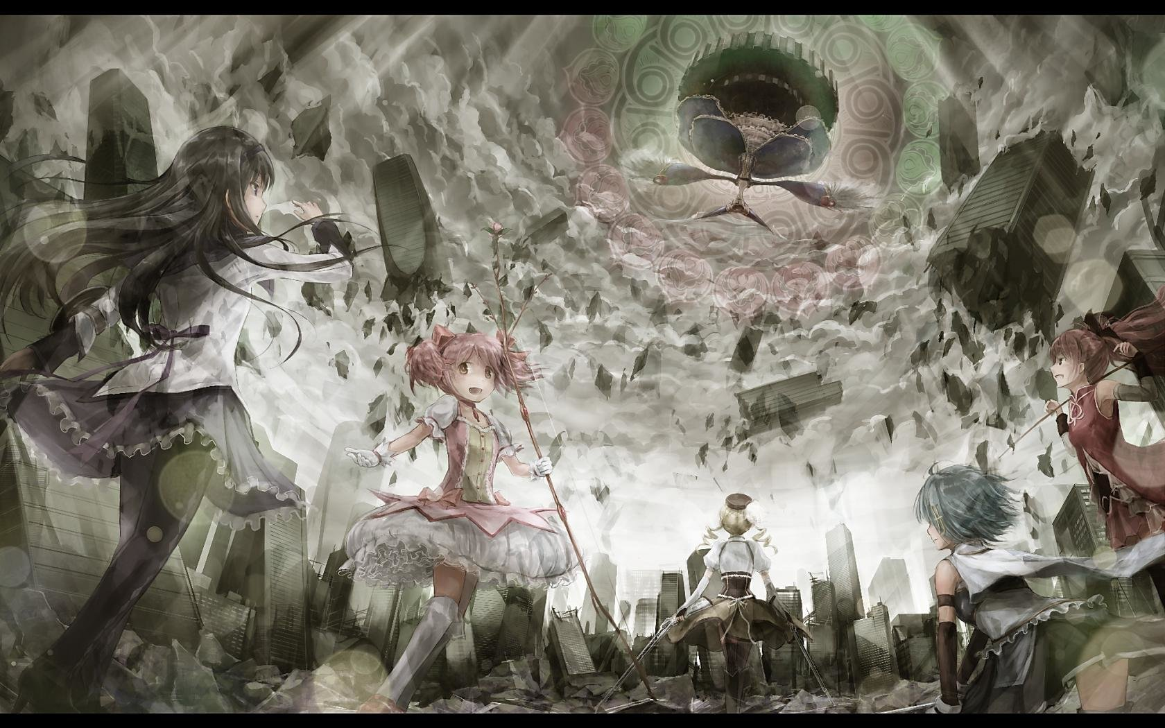 Free Puella Magi Madoka Magica high quality wallpaper ID:31427 for hd 1680x1050 PC
