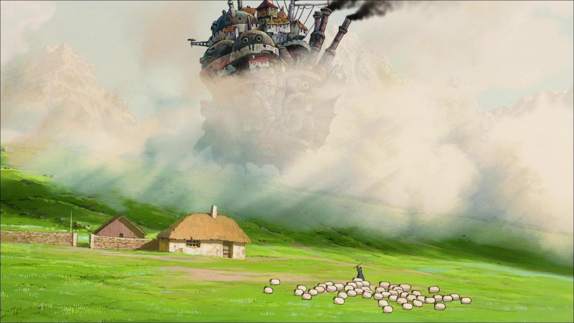 Free Howl's Moving Castle high quality wallpaper ID:347890 for full hd 1080p desktop