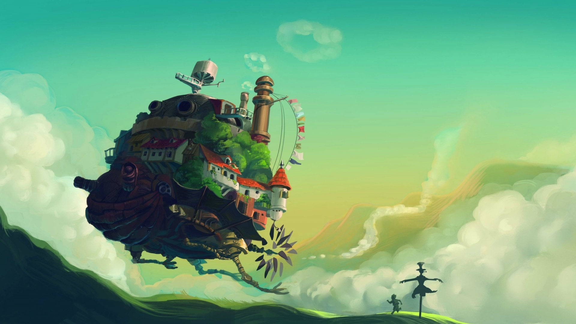 High resolution Howl's Moving Castle full hd wallpaper ID:347878 for PC