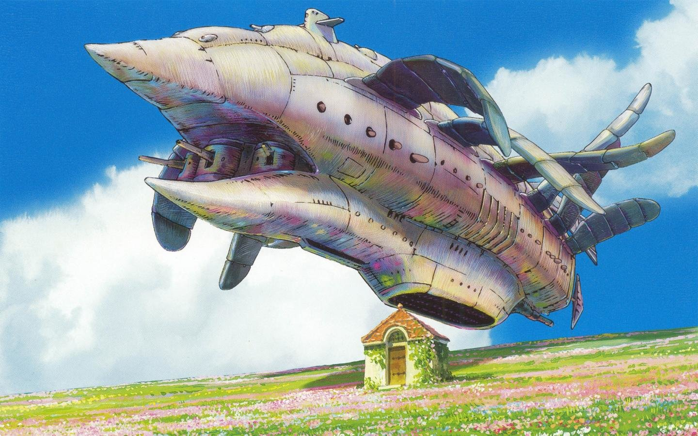Awesome Howl's Moving Castle free wallpaper ID:347885 for hd 1440x900 computer