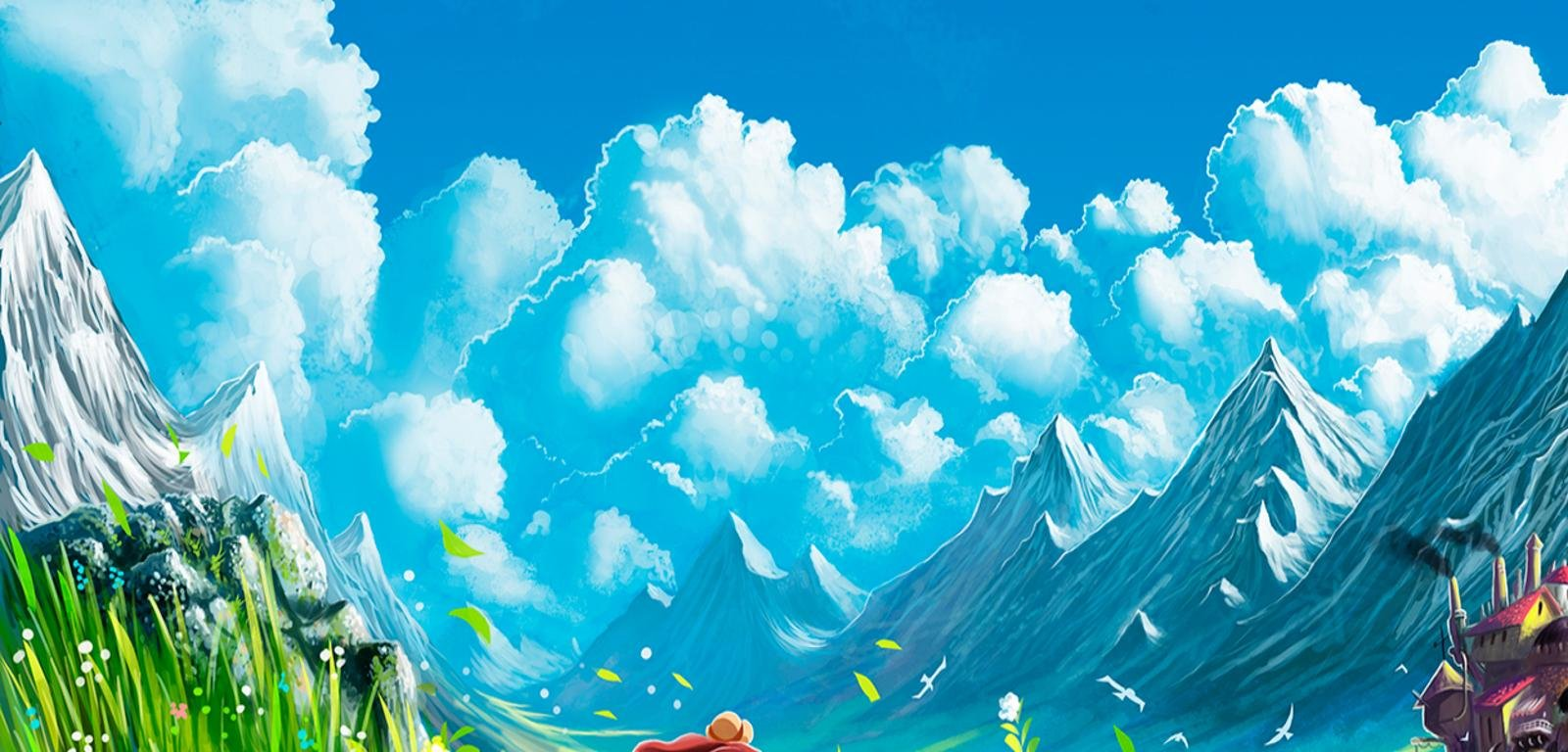 Awesome Howl's Moving Castle free wallpaper ID:347866 for hd 1600x768 PC