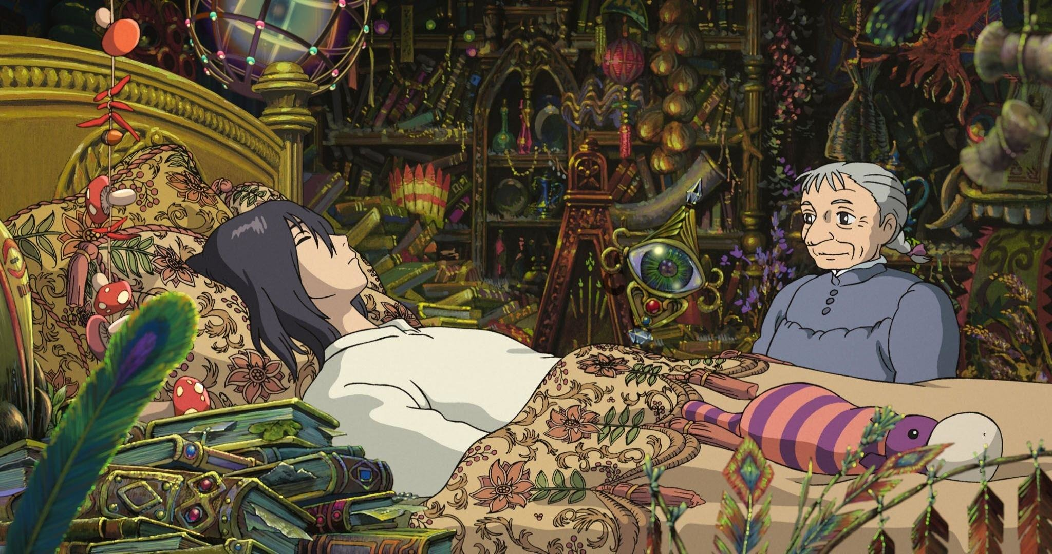 Awesome Howl's Moving Castle free wallpaper ID:347872 for hd 2048x1080 desktop