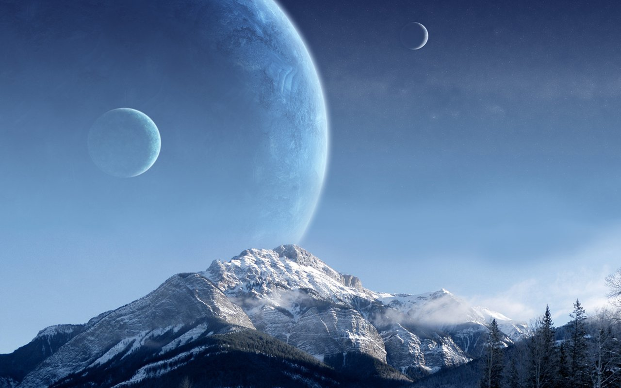 Free download Planet Rise wallpaper ID:193664 hd 1280x800 for computer