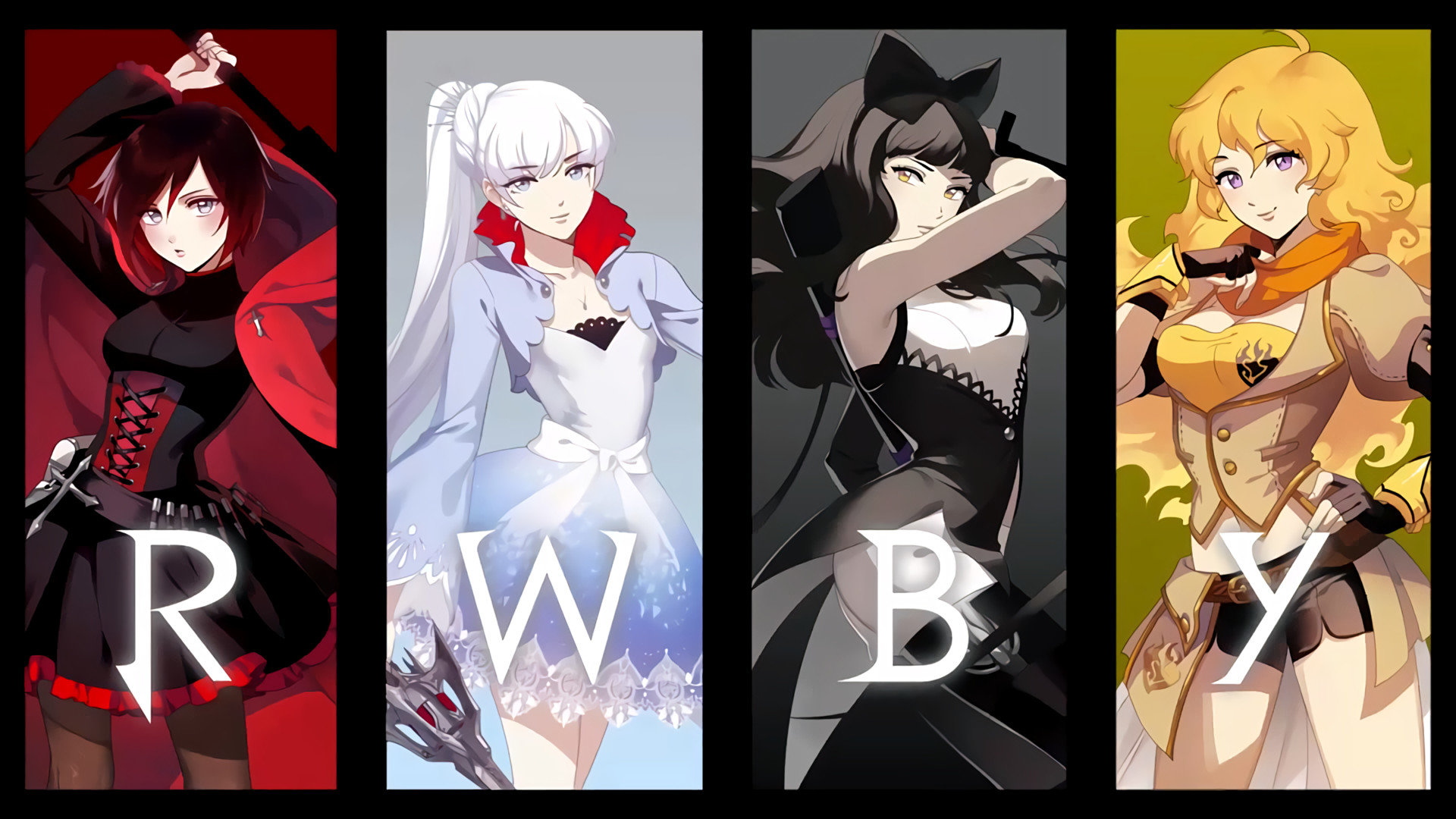 Download 1080p RWBY desktop background ID:437796 for free