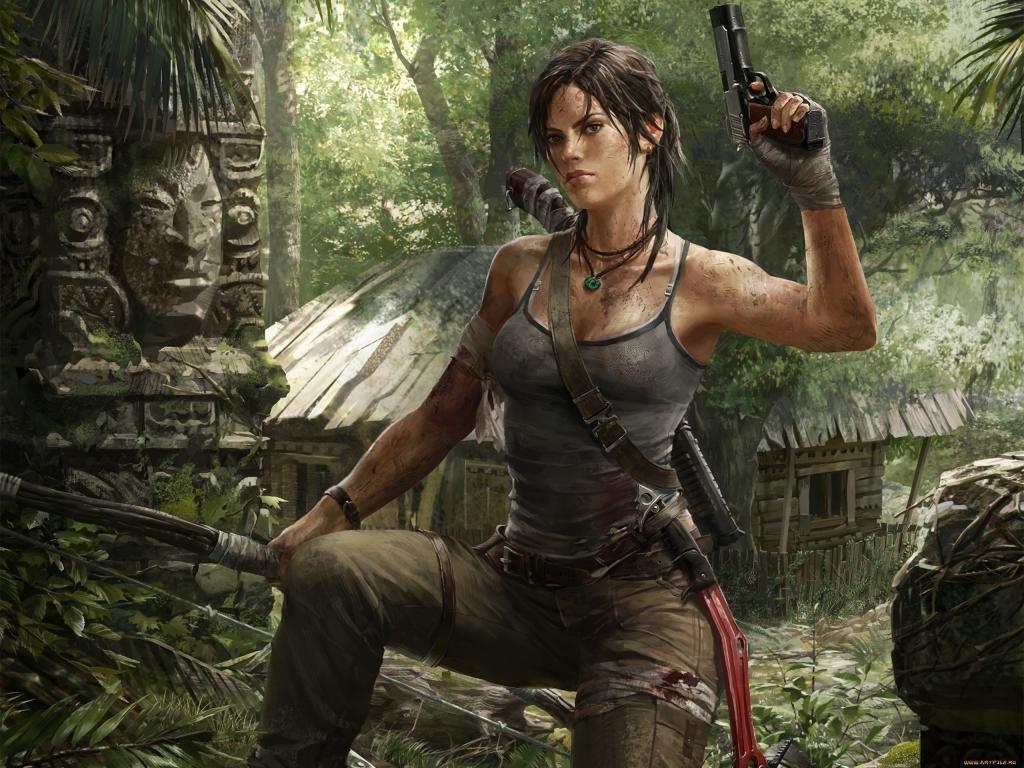 Free Download Tomb Raider Lara Croft Wallpaper Id 437258