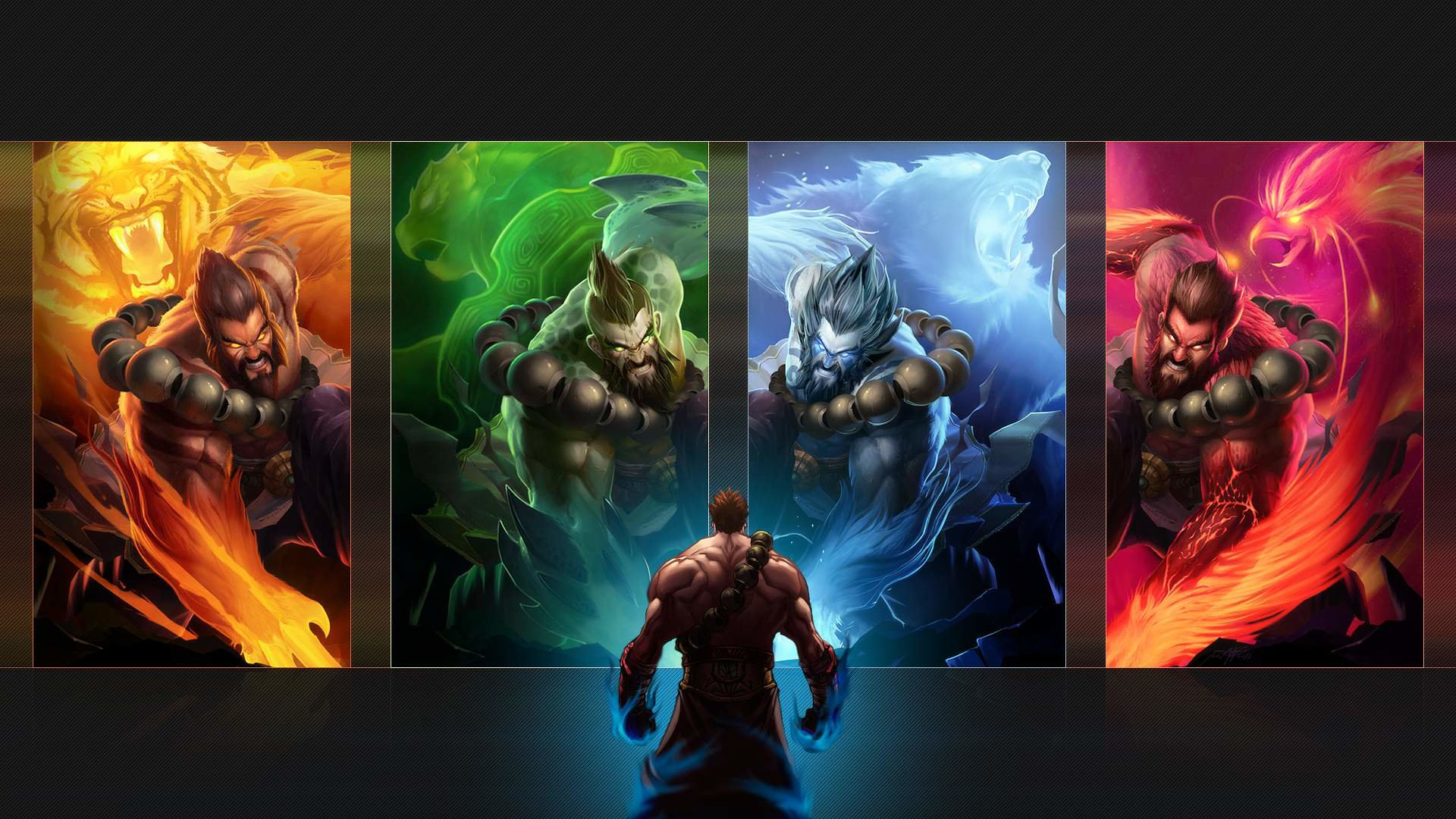Best Udyr (League Of Legends) background ID:170888 for High Resolution 1080p desktop