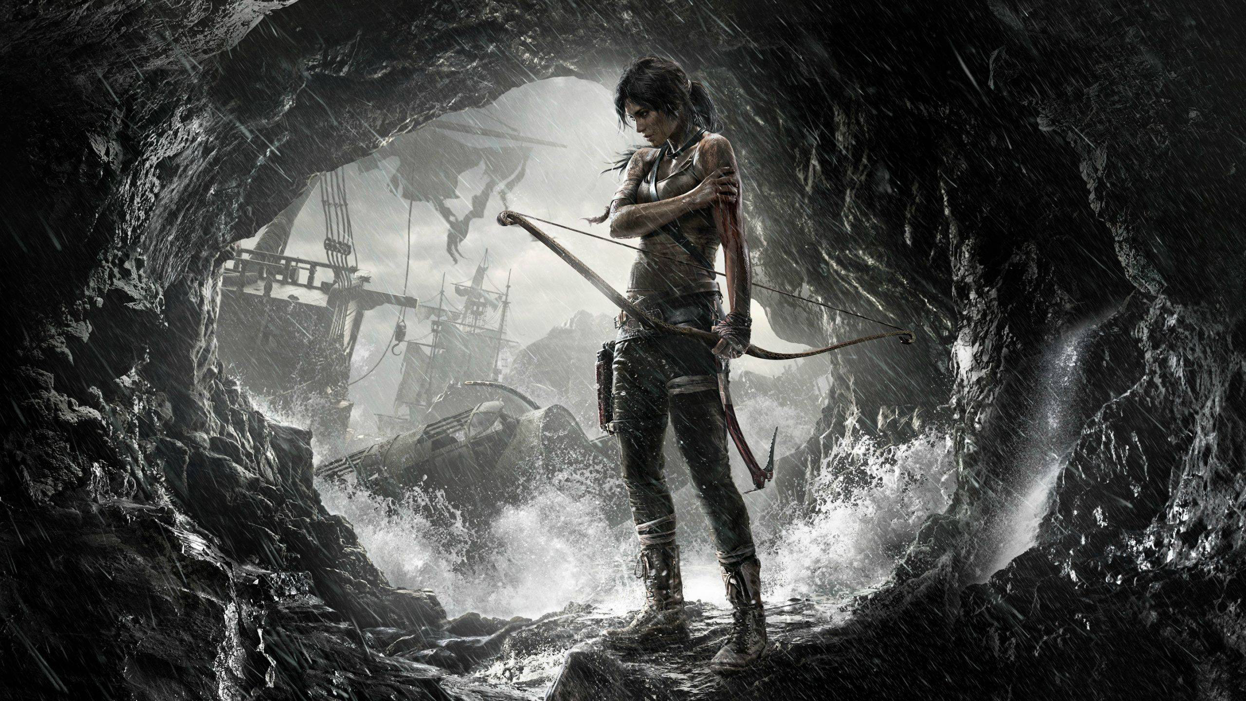 High resolution Tomb Raider (Lara Croft) hd 2560x1440 background ID:437312 for computer