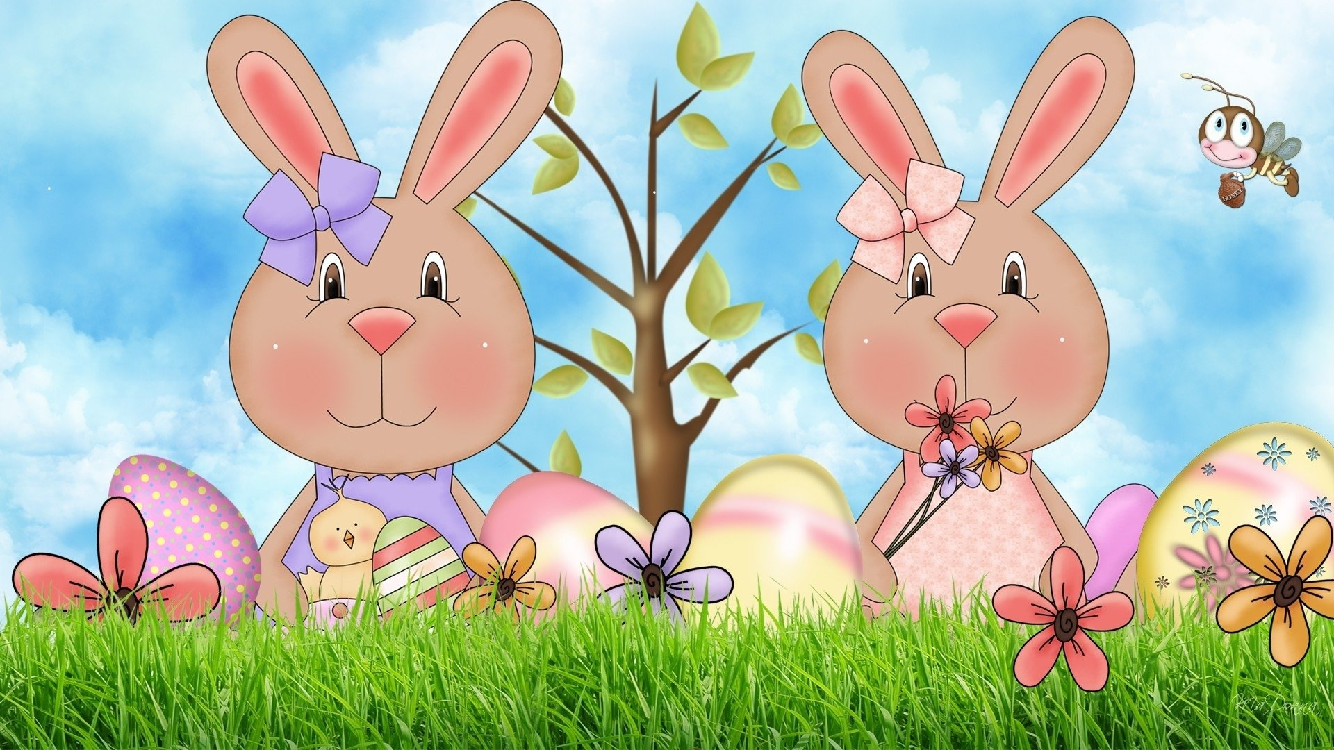 High resolution Easter full hd background ID:324618 for desktop