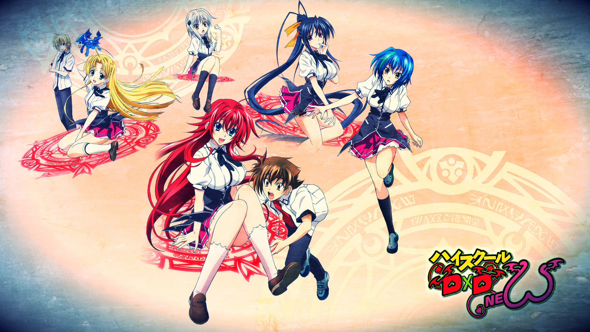 Download full hd 1080p High School DxD desktop background ID:273691 for free