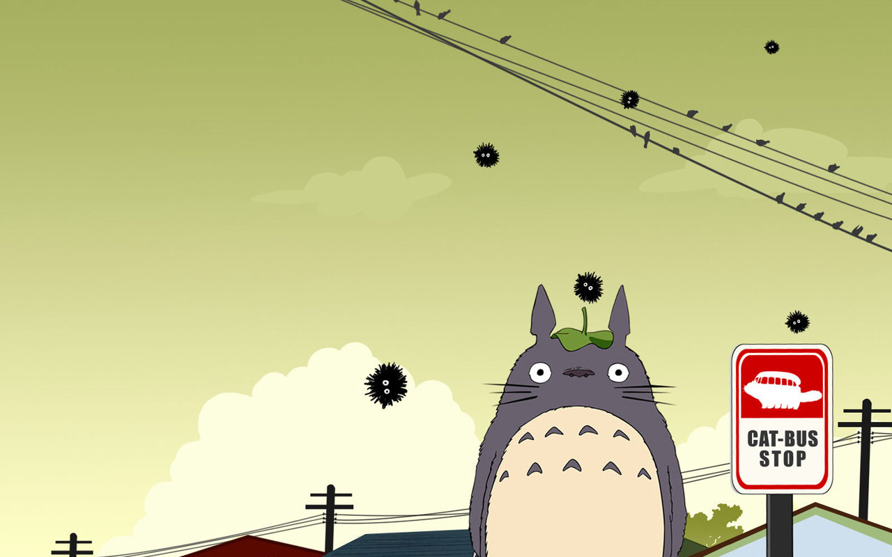 Download hd 1280x800 My Neighbor Totoro PC background ID:259314 for free
