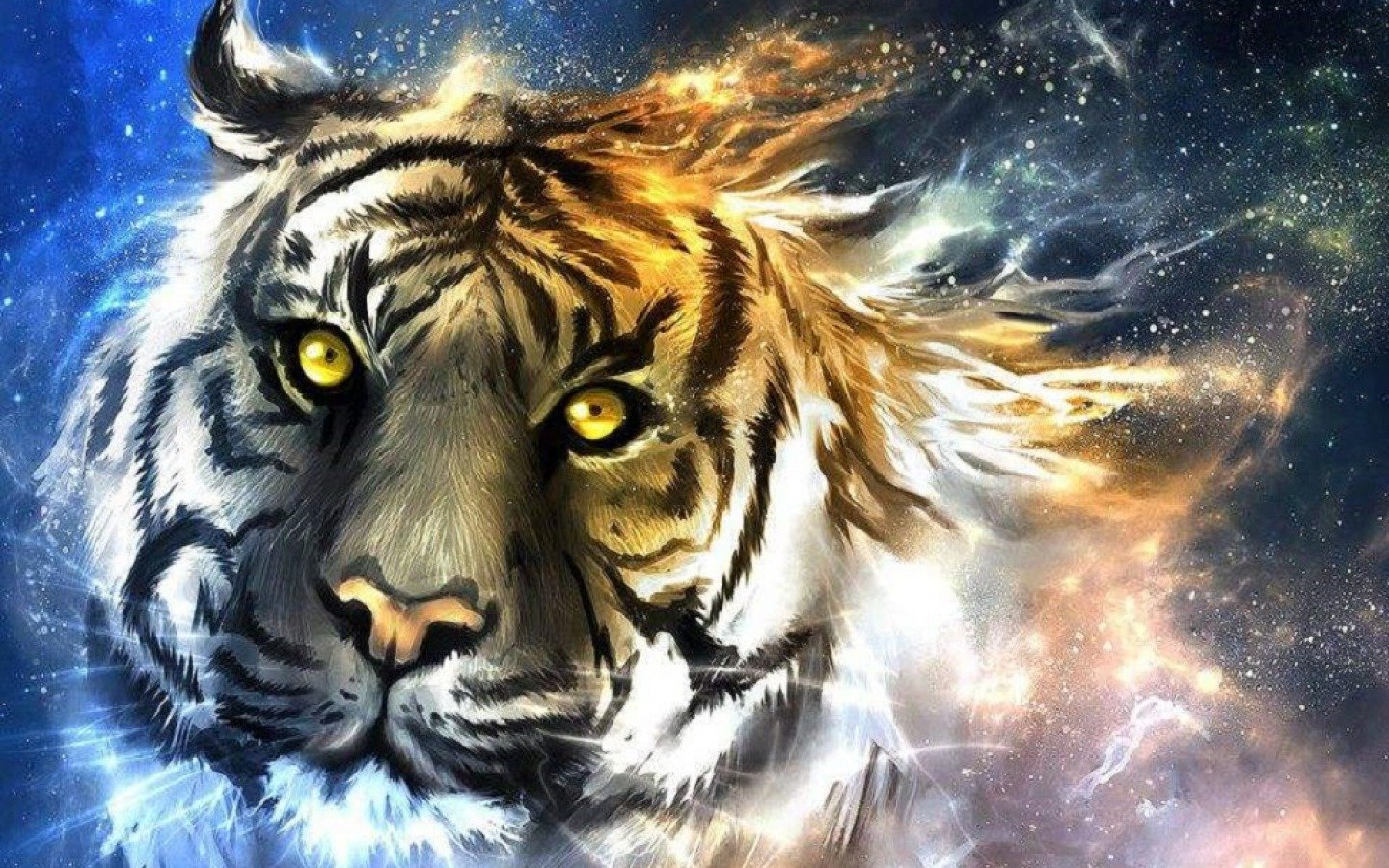Download hd 1440x900 Tiger desktop wallpaper ID:115645 for free