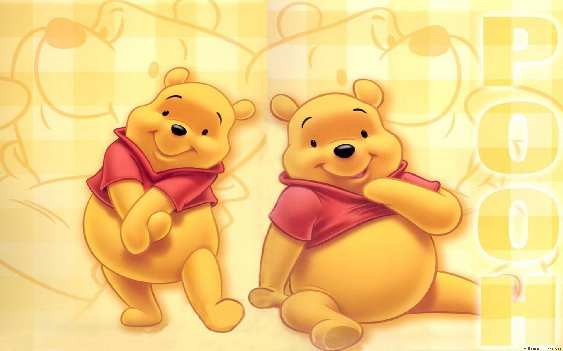 Download hd 1920x1200 Winnie The Pooh computer wallpaper ID:74408 for free