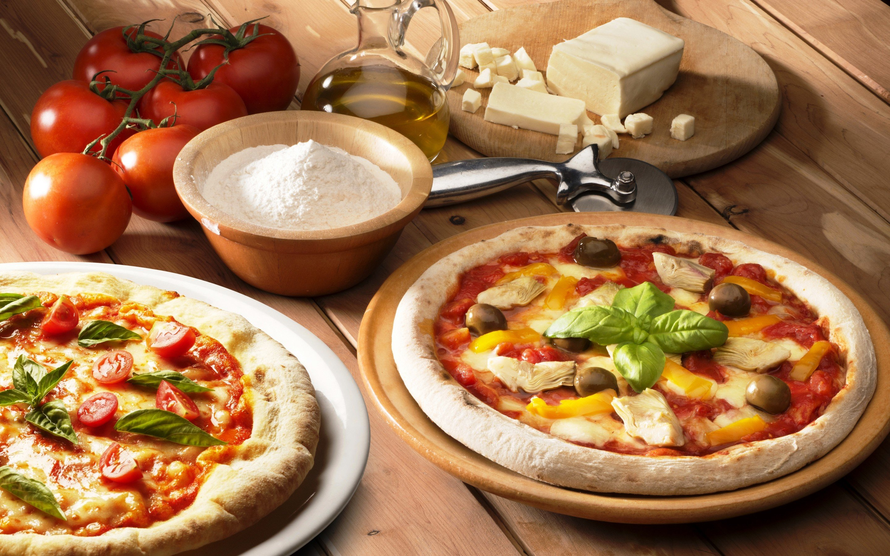 Download hd 2880x1800 Pizza desktop background ID:390310 for free