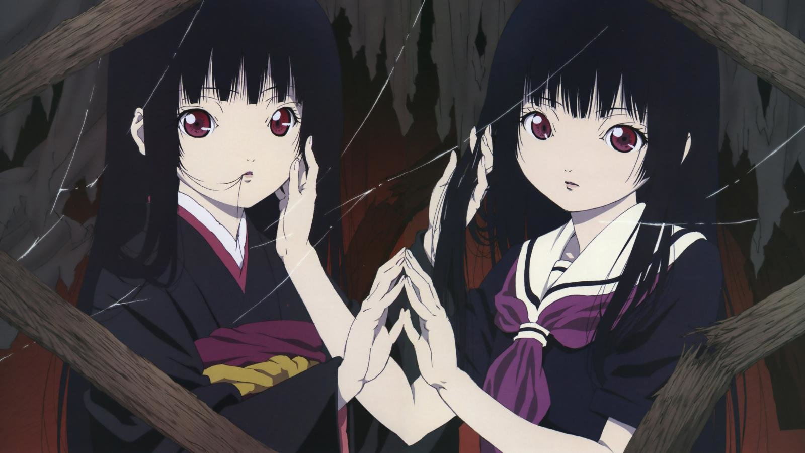 Free download Jigoku Shojo background ID:353888 hd 1600x900 for PC