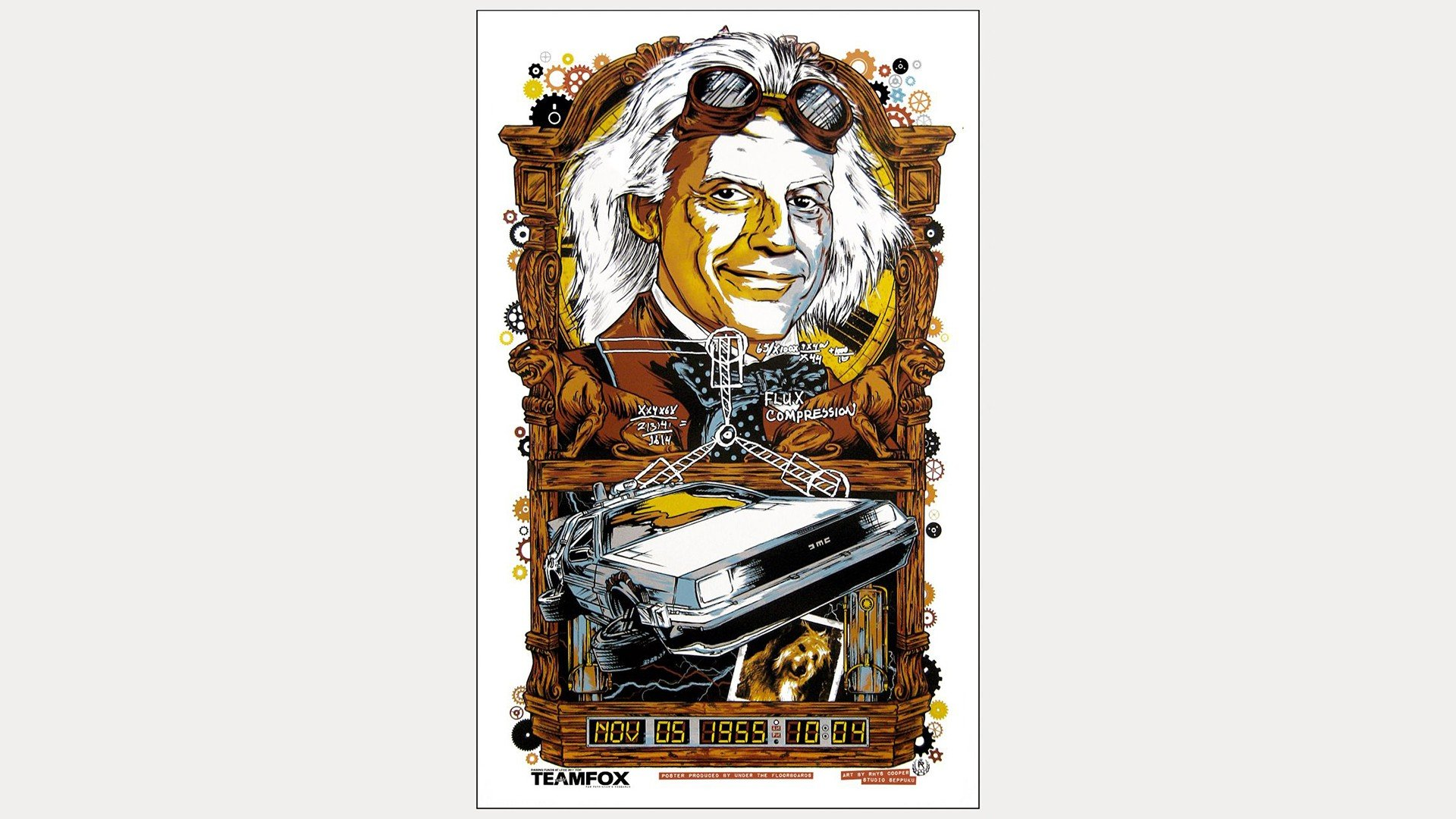 High Resolution Back To The Future Full Hd 1080p Wallpaper Id