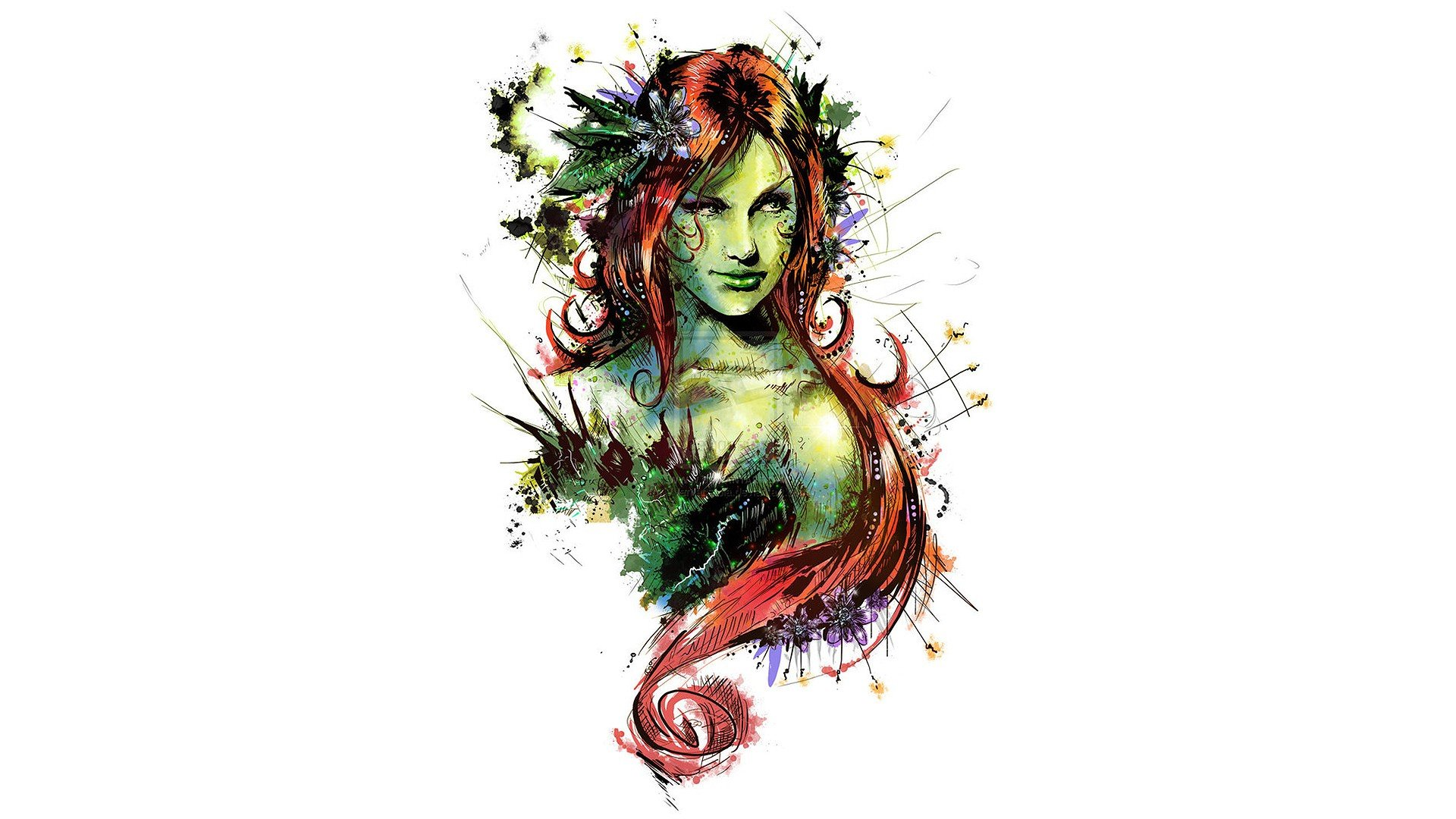 Awesome Poison Ivy free wallpaper ID:430608 for full hd 1920x1080 computer