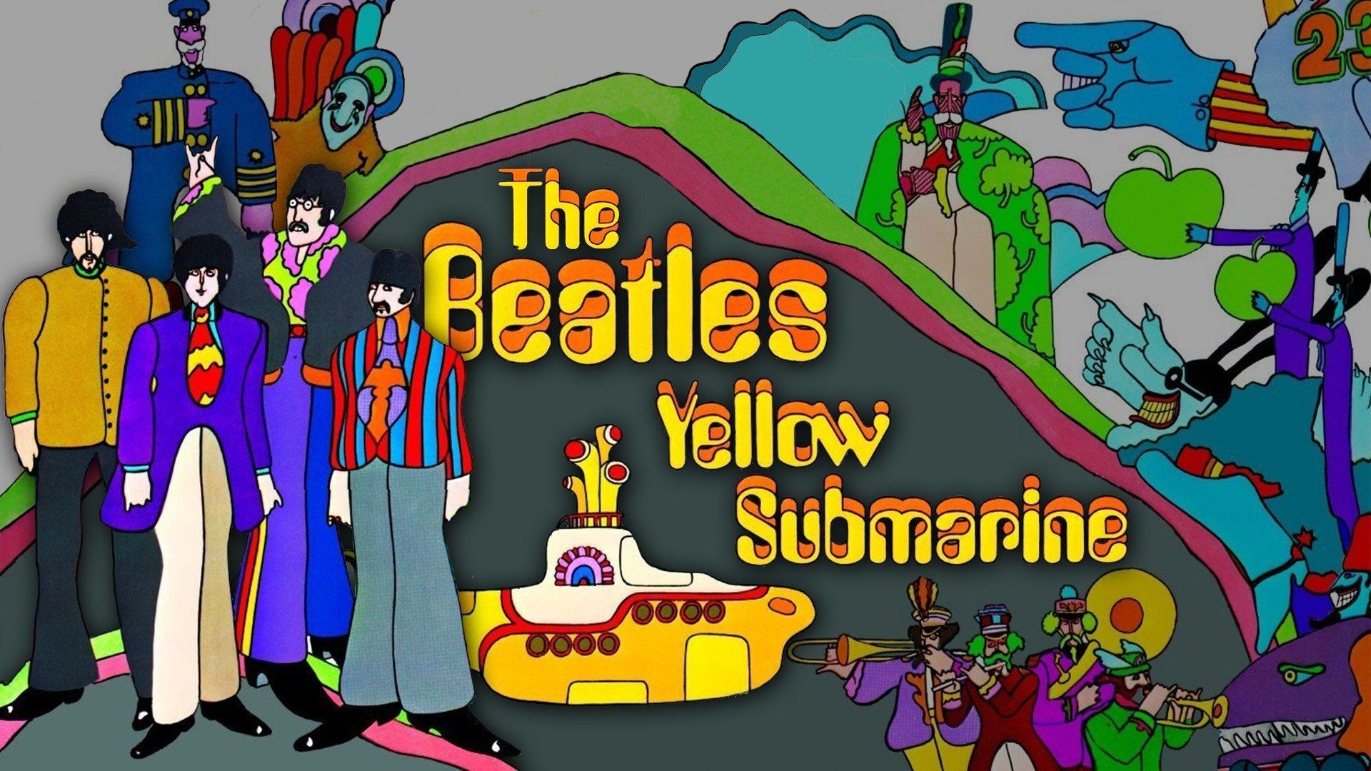 Free Download The Beatles Background Id 271297 Full Hd 1080p For Desktop
