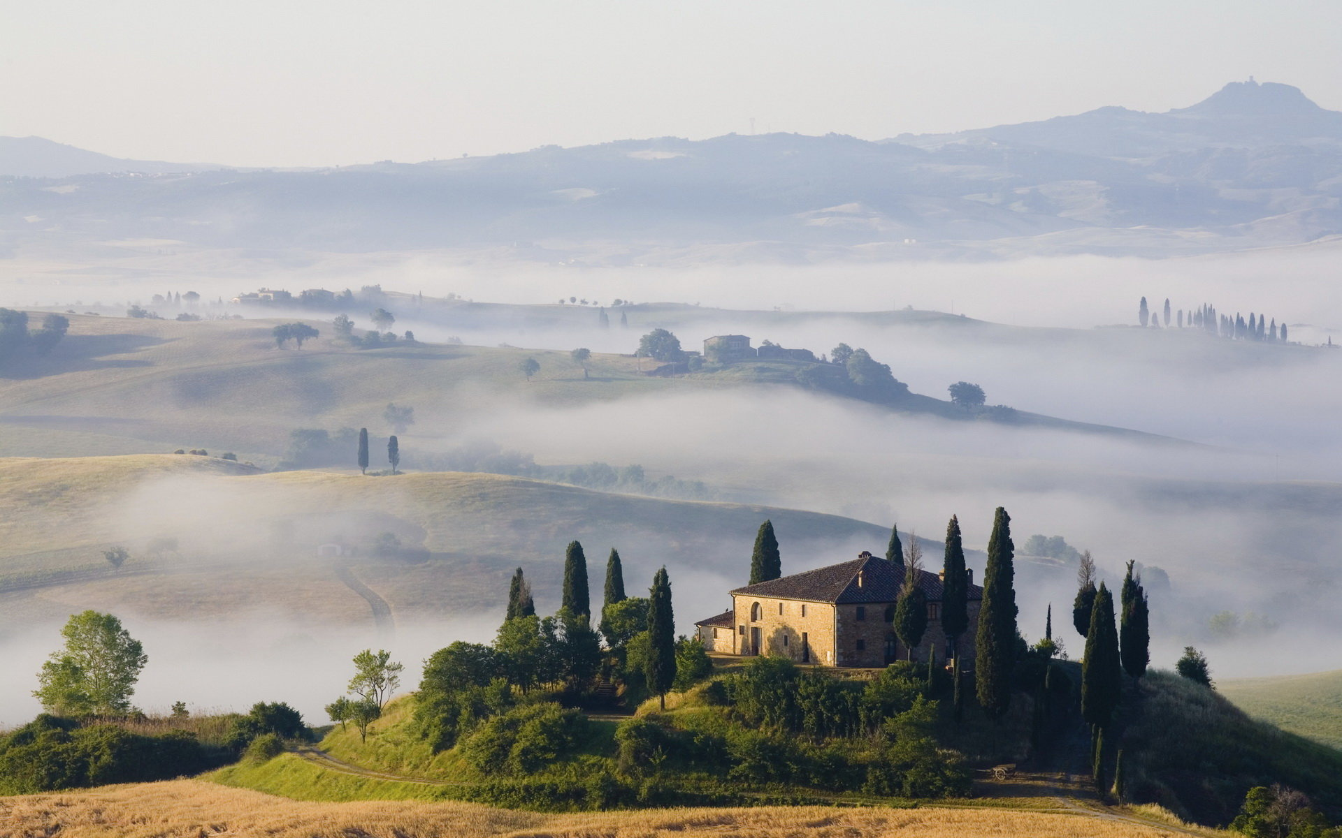 Tuscany wallpapers 1920x1200 desktop backgrounds