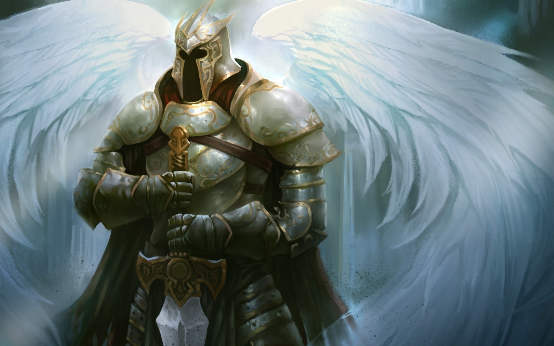 Awesome Angel Warrior free background ID:352363 for hd 1920x1200 PC