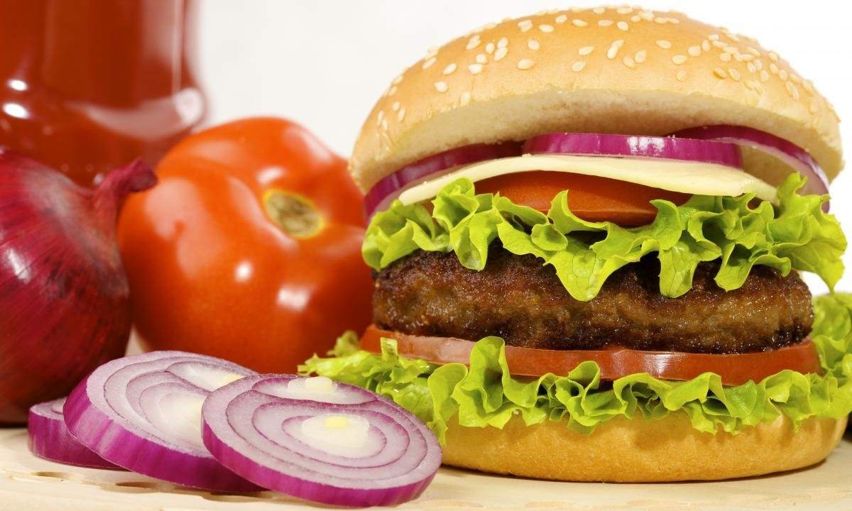 High resolution Burger hd 1200x720 background ID:149159 for desktop