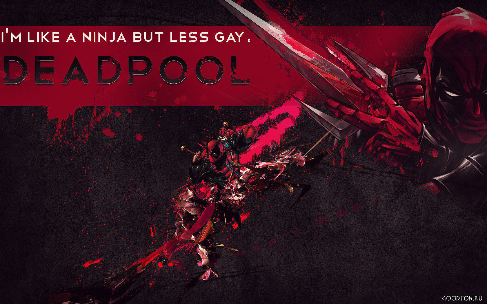 Free Deadpool high quality wallpaper ID:350311 for hd 1680x1050 PC