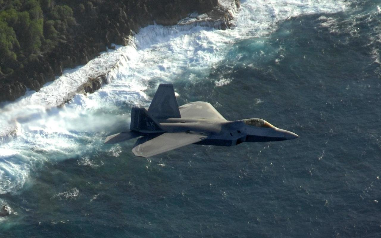 Download Hd 1280x800 Lockheed Martin F 22 Raptor Pc Wallpaper Id