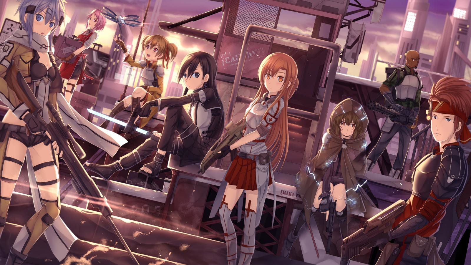 Download hd 1600x900 Sword Art Online 2 (II) desktop background ID:112256 for free
