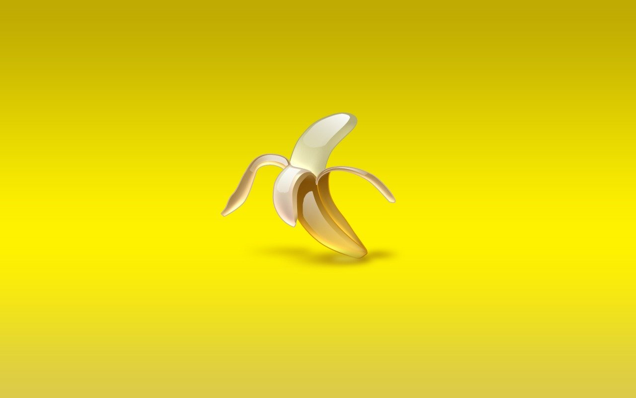 Download hd 1280x800 Banana PC background ID:463167 for free