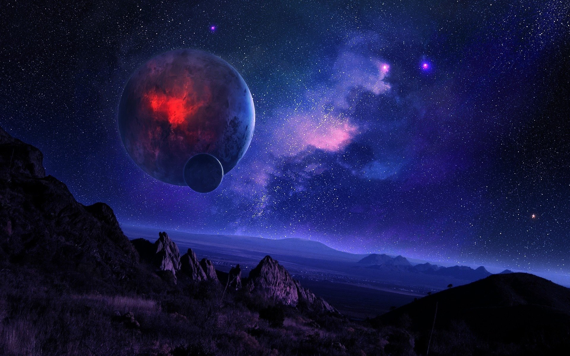 High resolution Sci Fi landscape hd 1920x1200 wallpaper ID:232790 for desktop