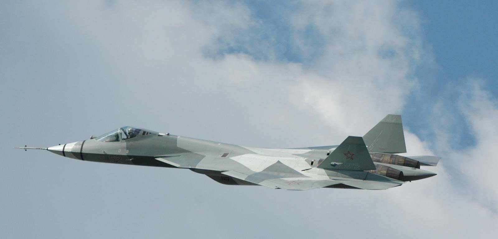 Free Download Sukhoi PAK FA Background ID283723 Hd 1600x768 For Desktop